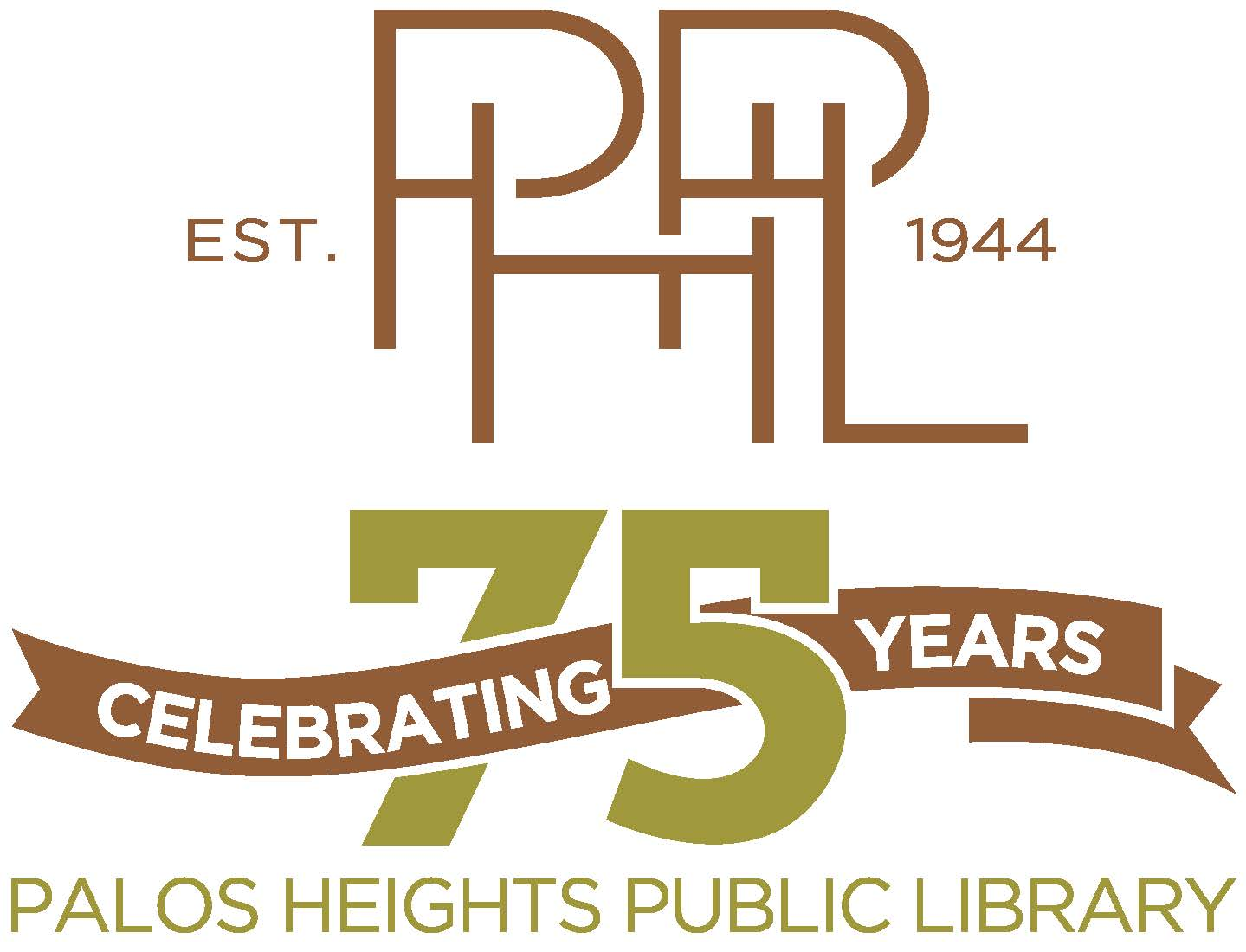 PH Library 75th-logo-stacked