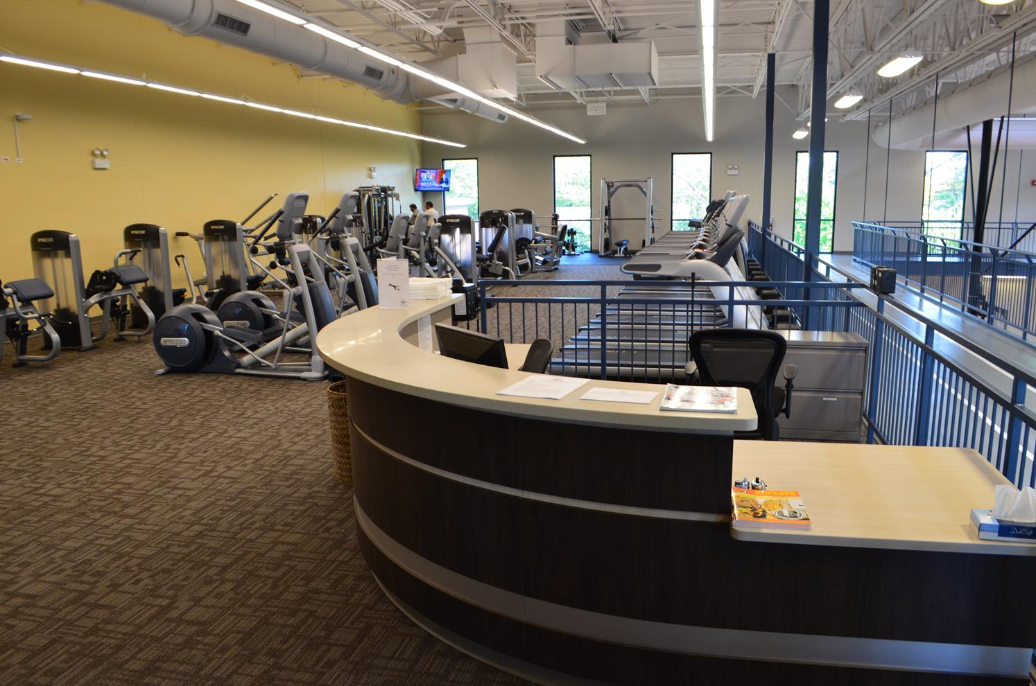 Front Desk at Fitness Center