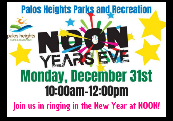 Join us in ringing in the New Year at NOON!